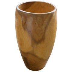Andrianna Shamaris Palm Wood Container
