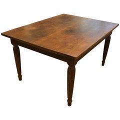 Andrianna Shamaris Raffles Influenced Teak Wood Dining Table