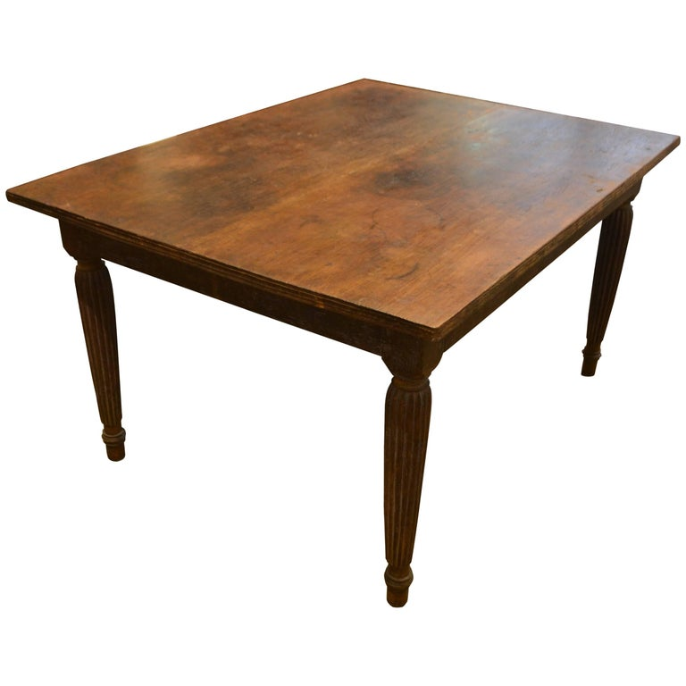 Wood Dining Table For Sale: Andrianna Shamaris Raffles Influenced Teak Wood Dining