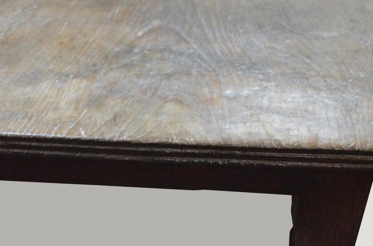 Mid-20th Century Andrianna Shamaris Raffles Teak Wood Dining Table For Sale