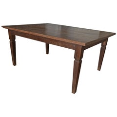 Andrianna Shamaris Raffles Teak Wood Dining Table