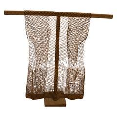 Andrianna Shamaris Rare Antique Bamboo Wood Vest