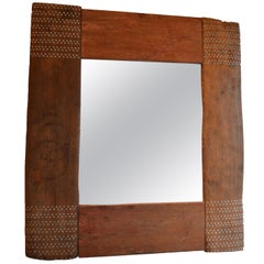 Andrianna Shamaris Shell Inlay Mirror