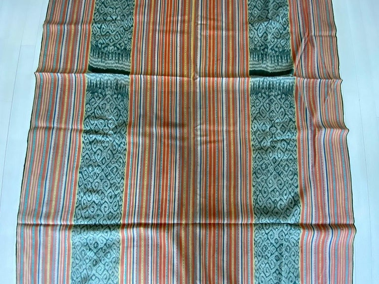 Tribal Andrianna Shamaris Super Rare Cotton Ikat from Sumba Indonesia For Sale