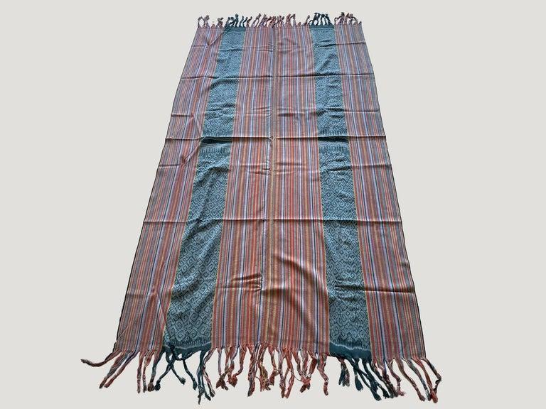 20th Century Andrianna Shamaris Super Rare Cotton Ikat from Sumba Indonesia For Sale