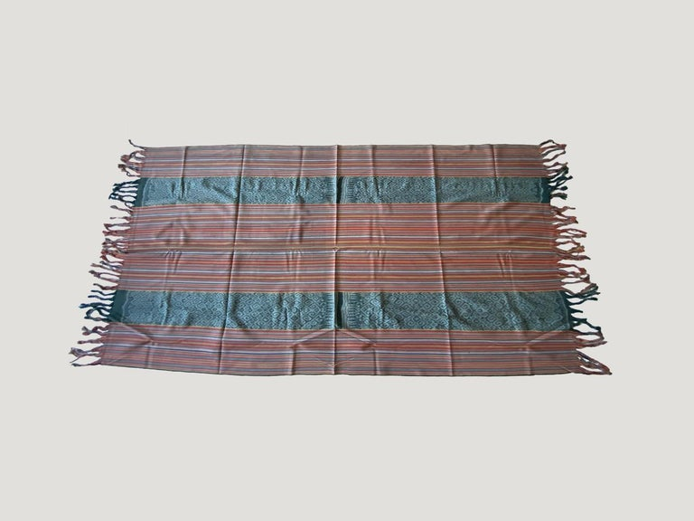 Andrianna Shamaris Super Rare Cotton Ikat from Sumba Indonesia For Sale 1