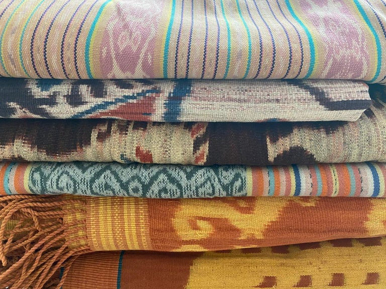 Andrianna Shamaris Super Rare Cotton Ikat from Sumba Indonesia For Sale 3