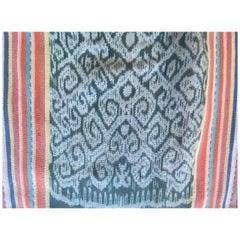 Andrianna Shamaris Super Rare Cotton Ikat from Sumba Indonesia