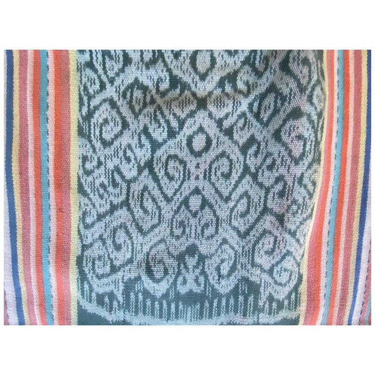 Andrianna Shamaris Super Rare Cotton Ikat from Sumba Indonesia For Sale