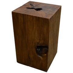 Andrianna Shamaris Tamarind Wood Side Table