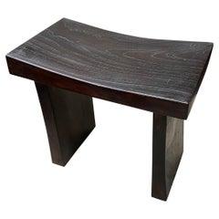 Andrianna Shamaris Teak Wood Minimalist Bench
