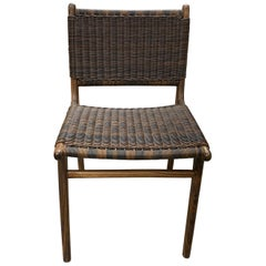 Andrianna Shamaris Teak Wood Weatherproof Chair