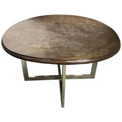 Andrianna Shamaris Ulin Wood Cocktail Table