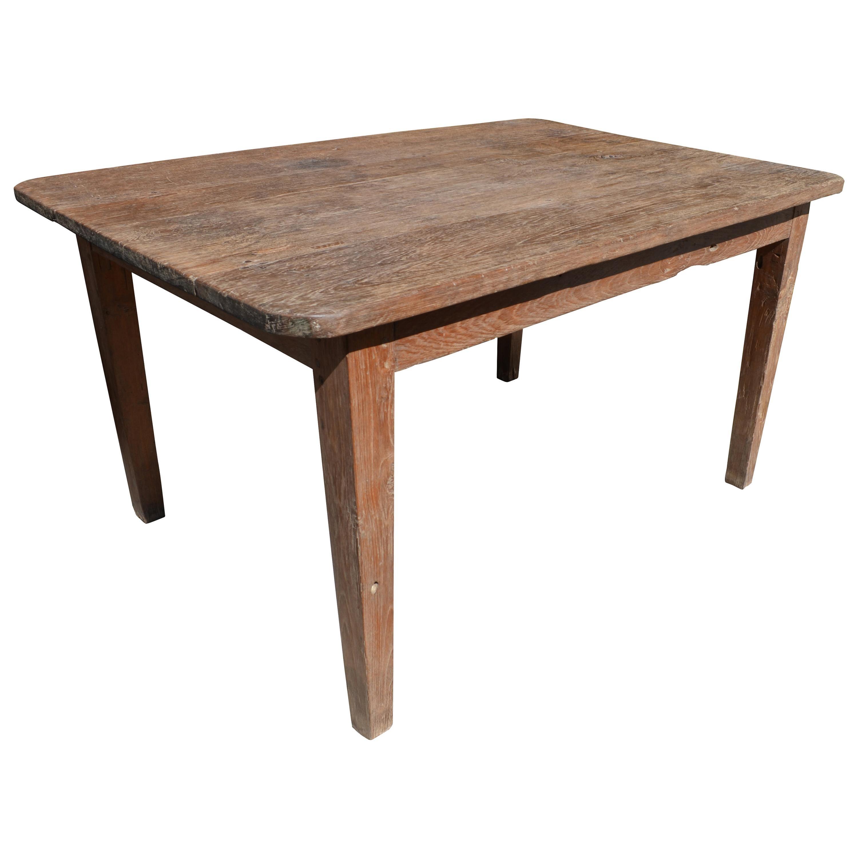 Andrianna Shamaris Wabi Sabi Teak Wood Dining Table or Desk