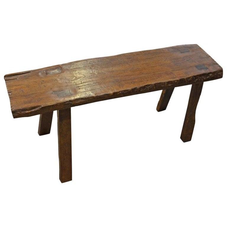 Admirable Andrianna Shamaris Wabi Teak Wood Bench Uwap Interior Chair Design Uwaporg