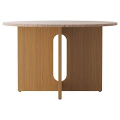 Androgyne Dining Table, Natural Oak/Sand
