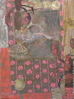 Jaipur XIII - XXI century, Still life, Acrylic painting, Colourful