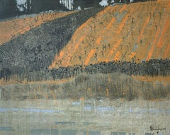 On a way to Periguaux - XXI Century, Contemporary Painting, Landscape , France