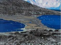 Rodos- Prasonisi I - XXI century, Landscape, Acrylic and mixed media painting