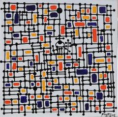 Kuraszewo - Polish Master Of Art Abstract Landscape, Minimalist