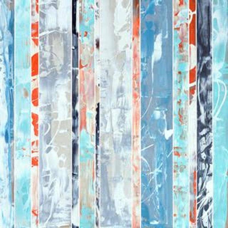 ANDRZEJ MICHAEL KARWACKI Abstract Painting - Andrzej Michael Karwacki, EQ Redefined Series: 1700-EU101-3, Abstract Art