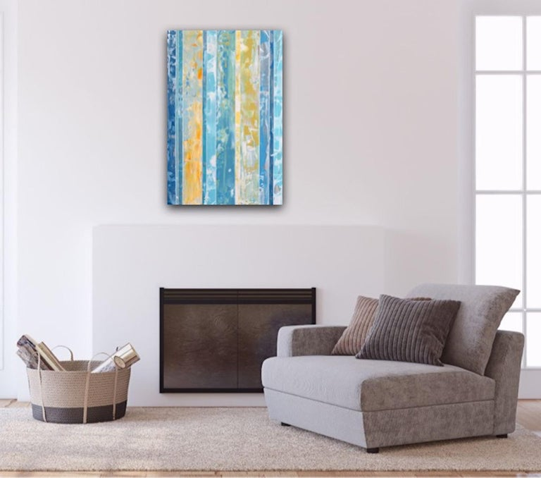 EQ redefined, 1600-10-2, Original Abstract Painting, Contemporary Art For Sale 12