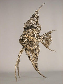 Angel Fish - bronze sculpture limited edition Modern Contemporary
