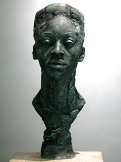 Arielle - original resin sculpture Modern Contemporary