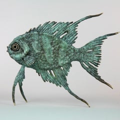Coral Fish - bronze sculpture beach limited edition contemporary 21st Century