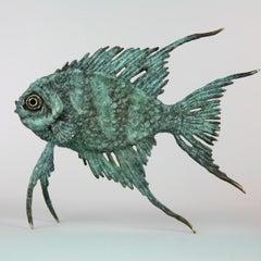 Coral Fish - bronze sculpture limited edition modern contemporary art unique
