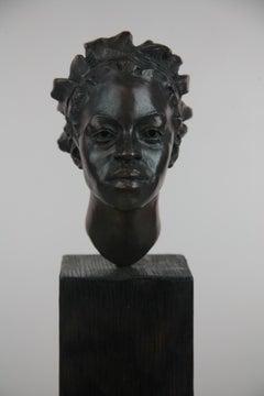 Fatima - bronze sculpture limited edition Modern Contemporary