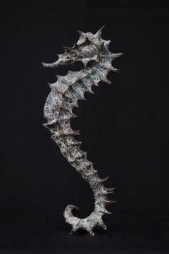 Lady Seahorse - bronze sculpture limited edition Modern Ocean Contemporary Art