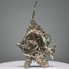 Sea Angel Fish - bronze sculpture Animal wildlife sea related limited edition
