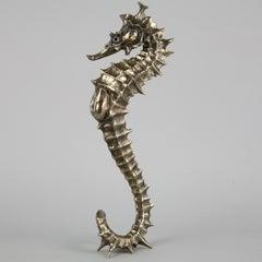 Seahorse II - bronze sculpture limited edition Modern Contemporary animal ocean