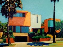 Andy Burgess, LA Modern, Oil on Canvas