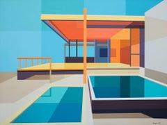 """Re-Imagined Neutra III - Chuey House"""