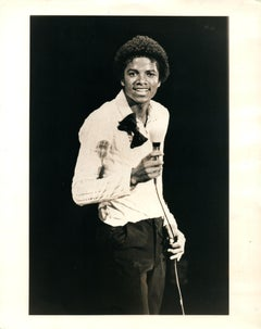 Michael Jackson Smiling Vintage Original Photograph