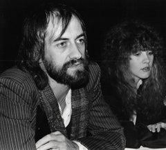 Mick Fleetwood and Stevie Nicks Candid Vintage Original Photograph