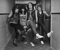 Quiet Riot Awesome Group Capture Vintage Original Photograph