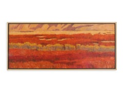 Oak Ocean (Fall landscape, orange/red colors, Aspen trees, cliffs)