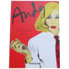 Andy Vintage Book by Christopher Makos