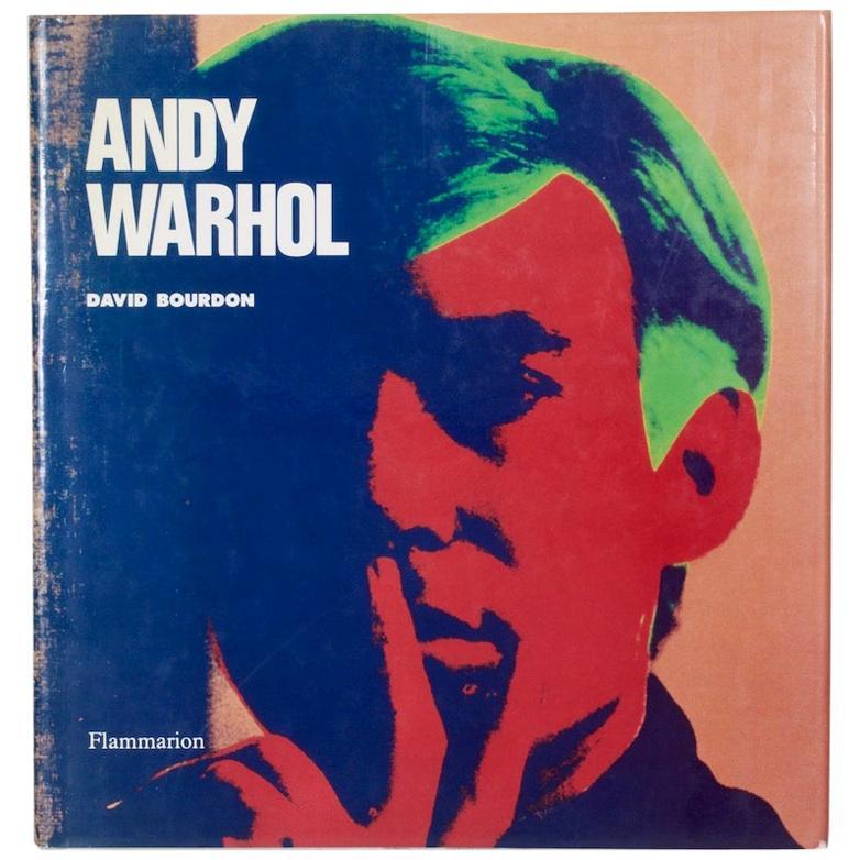 Andy Warhol by David Bourdon Flammarion, 1989
