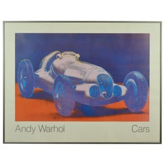 Andy Warhol Cars, Mercedes-Benz W125 Grand Prix Racing Car, Hans Meyer Galerie