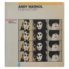 Andy Warhol Film Factory Vintage Soft Cover Book
