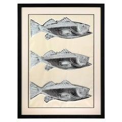 Andy Warhol Fish 'F. & S. IIIA.39', 1983