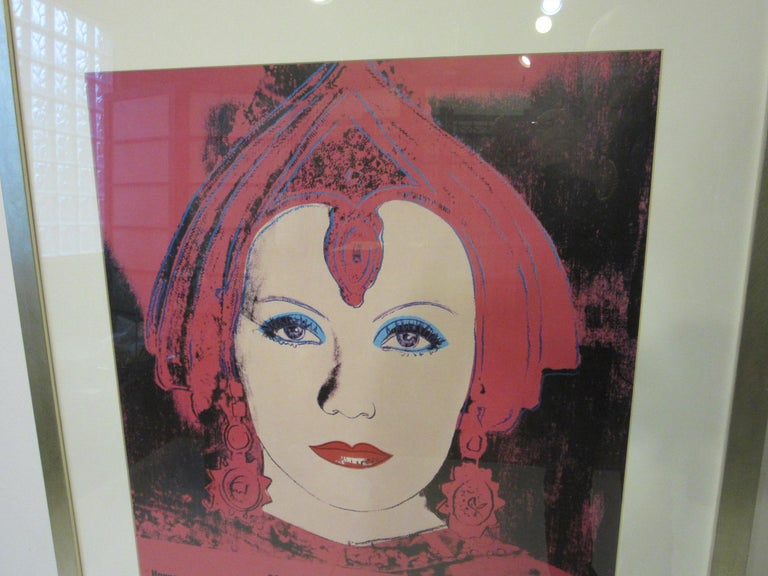 Modern Andy Warhol Kestner-Gesellschaft 1981 Gallery Poster For Sale