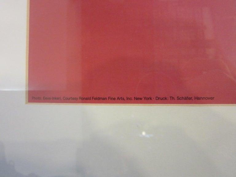 20th Century Andy Warhol Kestner-Gesellschaft 1981 Gallery Poster For Sale