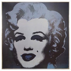 Andy Warhol, Large Screen Print, Marilyn Monroe, Andy Warhol Foundation, 1993