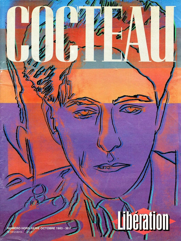 Jean Cocteau by Andy Warhol  For Sale 13
