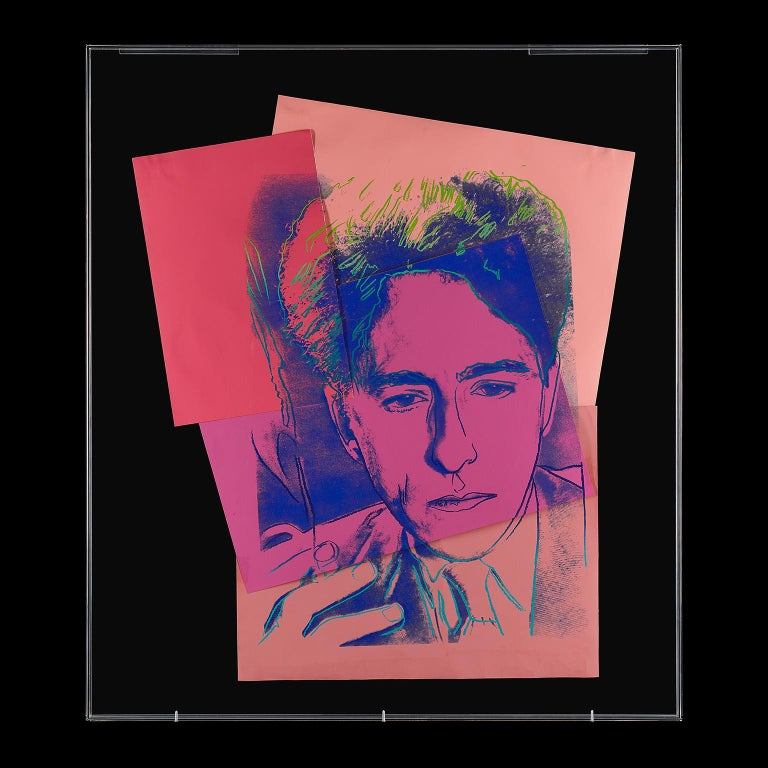 Jean Cocteau by Andy Warhol  For Sale 1